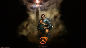 Gabe Newell Half Life 3 wallpaper 2560x1440 by DarrenGeers