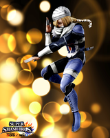 Super Smash Bros. Wii U / 3DS - Sheik by Legend-tony980