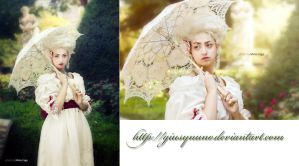 Marie Antoinette inspired chemise a la reine by giusynuno