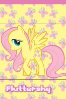 Fluttershy iPhone 4 Wallpaper by AceofPonies