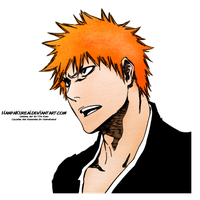Ichigo Colored Render by HanpaKureai