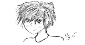 Bamboo: Tomboy Sketch by NatJack