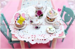 tea party by Fraise-Bonbon