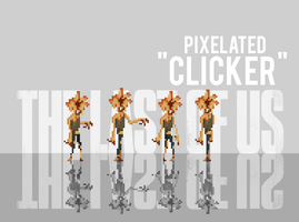 The Last of Us Pixelated Clicker by Ben3555