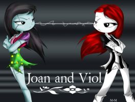 AT- Joan and Viol by Inked-Alpha