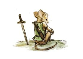 The Redwall Sentry by Dygee