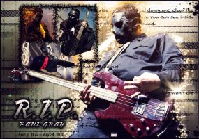 RIP Paul Gray by slipknotv