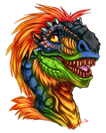 Wince Headshot Color by BLACK-HEART-SPIRAL