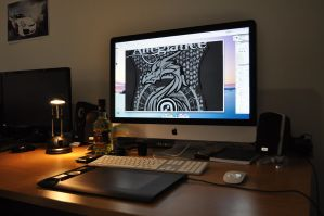 My Workstation by natosaurus