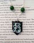 Slytherin Necklace by unistar2000