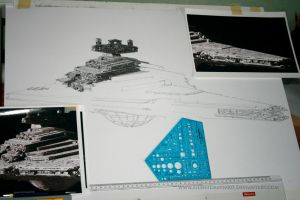 Star Destroyer WIP III by Angelstorm-82