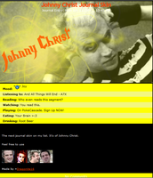 Johnny Christ Journal Skin by DragonA7X