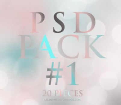 Psd Pack #1 by dilan1903
