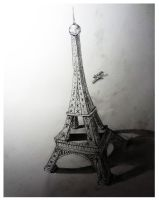 eiffel Tower by skylvr