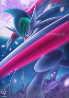 THE DARK KNIGHT - MEGA GALLADE by CHOBI-PHO
