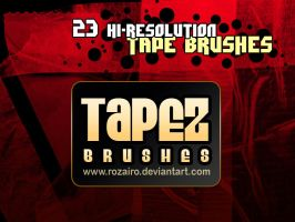 Tapez brushes by Rozairo