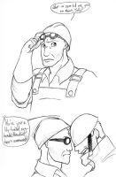 TF2 - An Engineer's Gotta Do.. by chibijaime