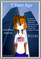 Remembering 9-11 by MidNight-Vixen