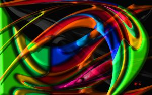 Abstract color blend part 2 by IRXDESIGN
