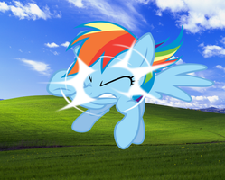 Rainbow Crash Windows - FREE WALLPAPER by KariTheKittyKat