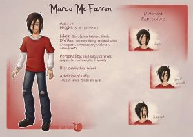 Character sheet- Marco by SilentJ75