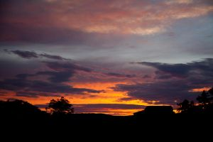 Sunset on the Range by PhotoAlterations