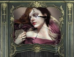 Antiguo retrato by vampirekingdom