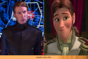 Prince Hans and General Hux Alike by GamerGirl14