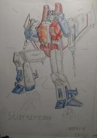 Starscream by Creon25367