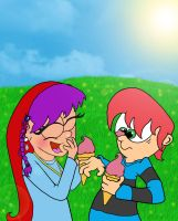 Ice Cream in the Park by blue-shadow24