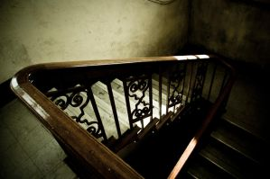Stairwell - The Asylum by JackSivyer