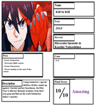 Kill la Kill Pros and Cons by cartoonobsessedSTAR1