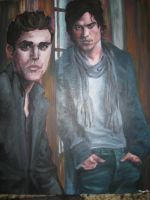 The Salvatore Brothers by Morganellie