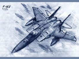 F-15C by TheXHS
