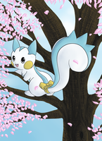 Patchi the Pachirisu by Lil-Fwuffee-Kitty