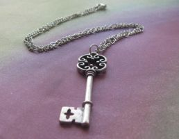 Unlock me necklace by LKJSlain