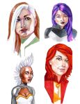 X-Men Portraits by JBEmmett