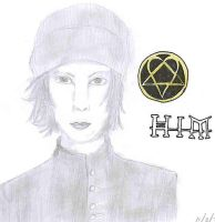 Ville Valo from HIM by Lolita-Ragdoll