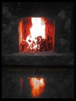 Fire place by toxickissmusic