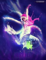 Hip-Hop Dancer - Just Fly by GKDes1gn