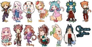 Chinese Zodiac by Sumire-Art