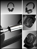Bowers and Wilkins P5 3d model by Neon206