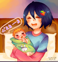 Congratulations new mom!! by MomoChiee