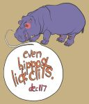 Even Hippos by giantflyingTURD