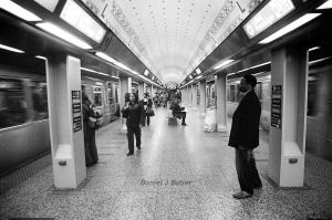 Chicago Subway by DanielJButler