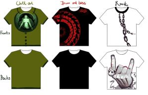 T-shirt dsigns by Nutthead