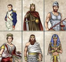 Historia DA collection - Advisors 1 by Lythilien