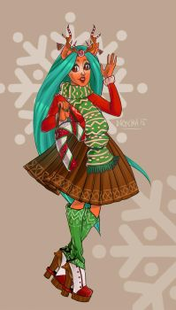 Isi Dawndanser [monster high] by a-drycha
