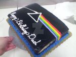 Dark Side Of The Moon Cake by Juno-Gemini