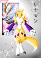 Renamon by Soshasil12